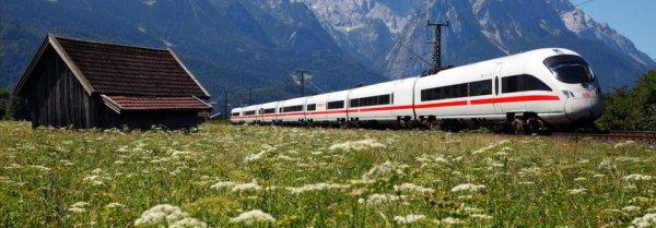 5% Rabatt auf den Fahrpreis der deutschen Bahn