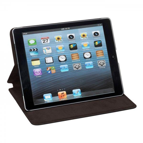 [amazon.de] PEDEA Echtleder Tasche mit Aufstellfunktion für Apple iPad Air dark brown für 16,90 € ohne Vsk