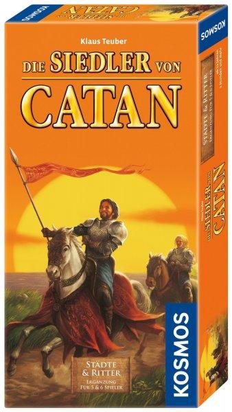 [Amazon Prime] Die Siedler von Catan Städte & Ritter Ergänzung für 5 & 6 Spieler