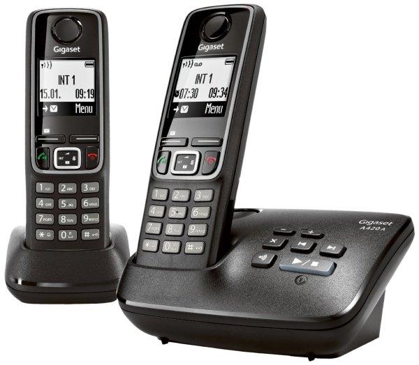 Dect Gigaset A420A Duo für 32,19€ bei MeinPaket incl.Versand [B-Ware]