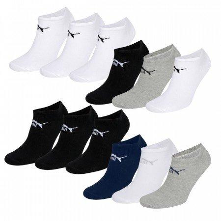 15 Paar PUMA Sneaker Socken in verschiedenen Farbkombinationen