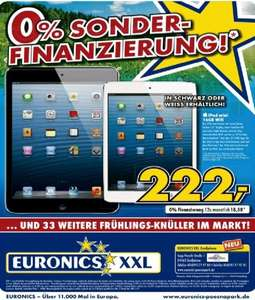 [Lokal Leipzig] Ipad mini 16 GB wifi Euronics