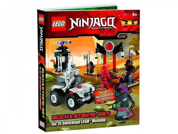 pearl.de - Lego Buch & Steine Set - 9,90 EUR + 4,95 VSK Castel-City-Ninjago