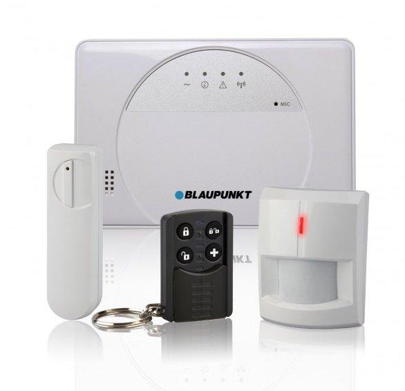 Blaupunkt SA 2500 Smart GSM Funk-Alarmanlage Starterkit
