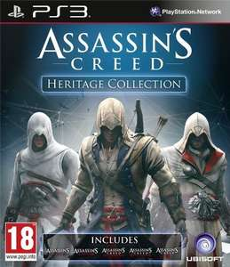 Assassin's Creed: Heritage Collection (PS3) für 32€ @Game