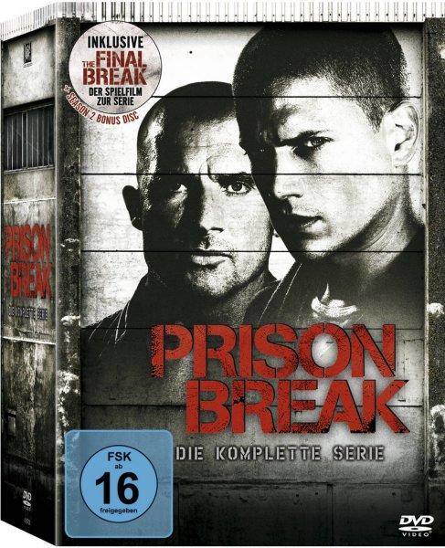 Prison Break – Die komplette Serie (DVD) inklusive 'The Final Break' für 33€