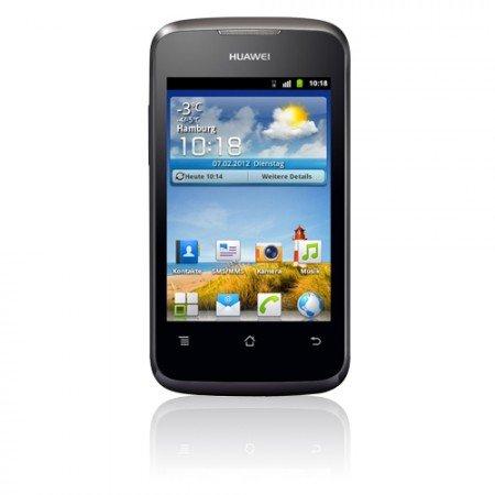 Huawei Ascend Y200 Schwarz für 49,90€ inkl. VSK