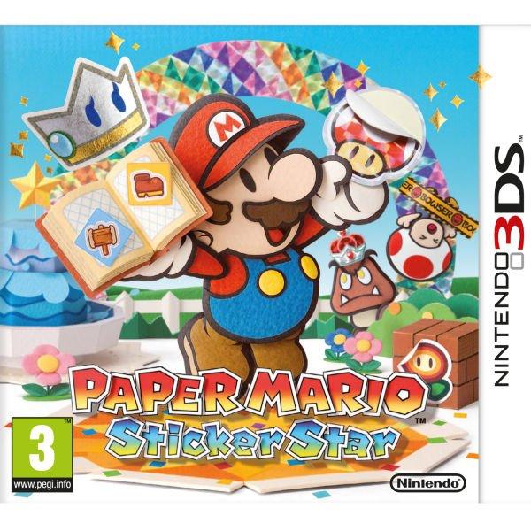 Nintendo 3DS - Paper Mario: Sticker Star für €17,90 [@Zavvi.com]