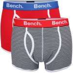 Bench Menx27s 2 Pack Boxers- Black Stripe/Red für 10,75€ inkl. Versand