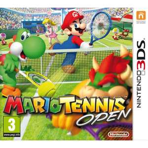 Sold out - Mario Tennis Open für Nintendo 3DS - 19,10€