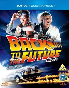 Back to the Future Trilogy  Blu-ray (Incl. UltraViolet Copy) für 8,34€ @Zavvi