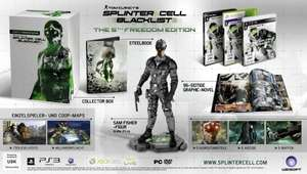 [PS3 / PC] Tom Clancys Splinter Cell 6 Blacklist - The 5th Freedom Edition - 20,99 EUR