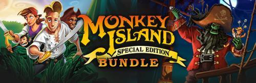 Monkey Island: Special Edition Bundle @ STEAM für 7,49€ (-50% OFF)
