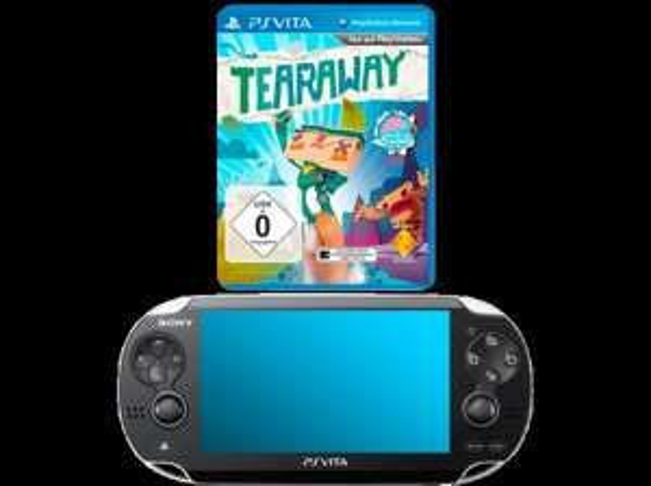 SONY PS Vita WiFi Konsole inkl. Tearaway @saturn