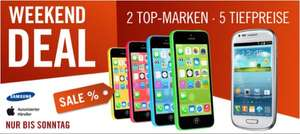iPhone 5c 32GB @ Cyberport Weekend Deal 499€