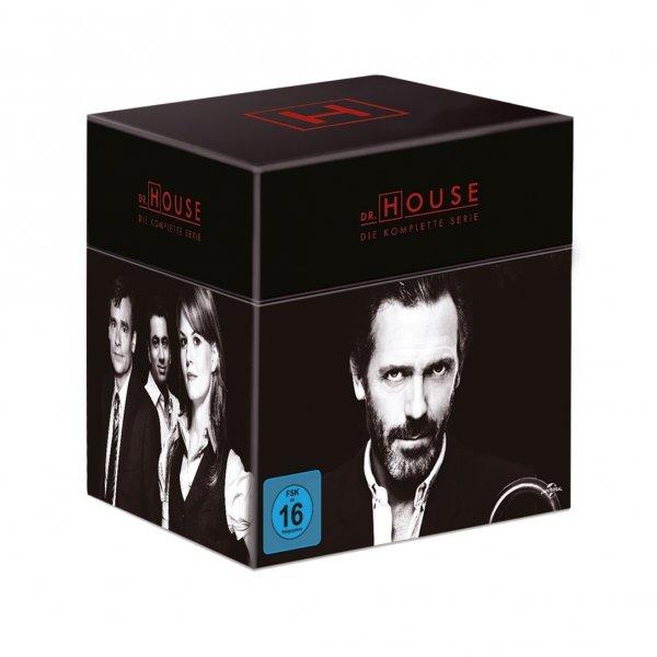 Dr. House - Die komplette Serie: Season 1-8 [Limited Edition mit dem Dr. House-Verbandset / 46 DVD-Discs] @ Alphamovies für 72,99€