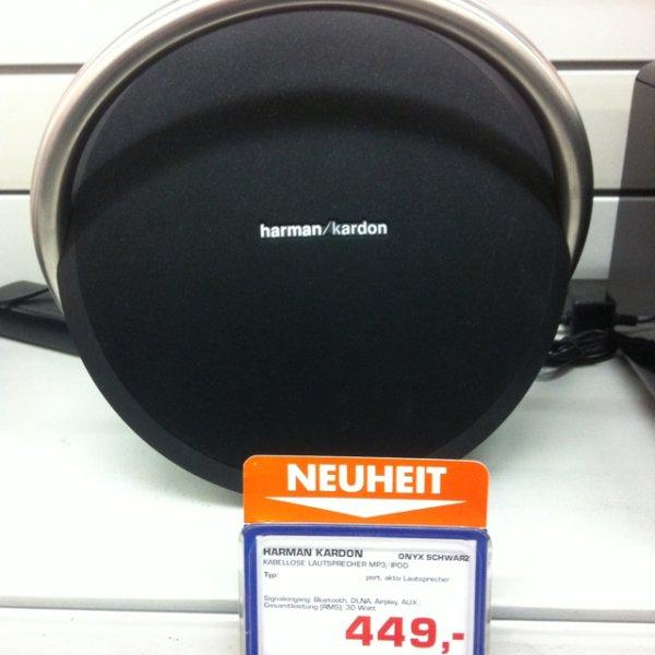 harman Kardon Onyx Bluetooth-AirPlay-WLAN Lautsprecher