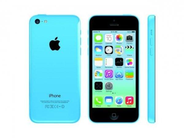 iPhone 5C 16GB weiß / blau für 444 €