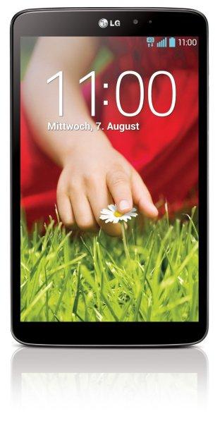 LG G Pad 8.3 16GB Wifi schwarz bei Amazon.co.uk 183,09GBP / 220€