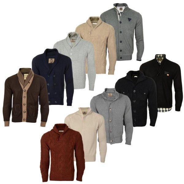 MCL Herren Strickpullover Shirt Sweatjacke div Modelle und Farben Gr. M bis 2 XL von 89,99 auf 19,99 reduziert!
