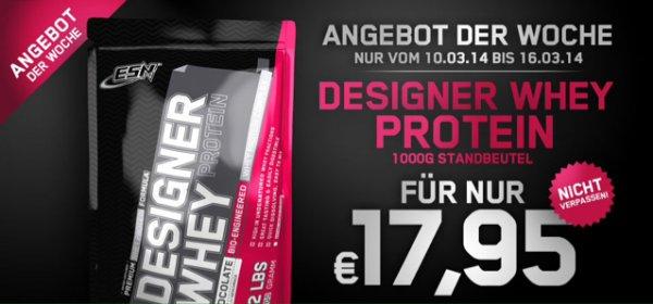 ESN Designer Whey 1kg für 22.45€