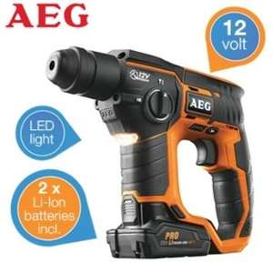 IBOOD.com - Tagesangebot - AEG BBH-12 SDS-Plus Akku Bohrhammer  - 179 € + Vsk