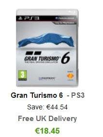 ZAVVI.com  -   Gran Turismo 6 PS3 -  für 17,90 €