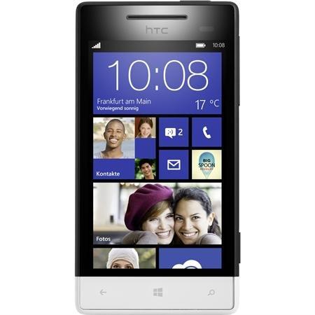HTC Windows Phone 8S schwarz weiß (B-Ware)