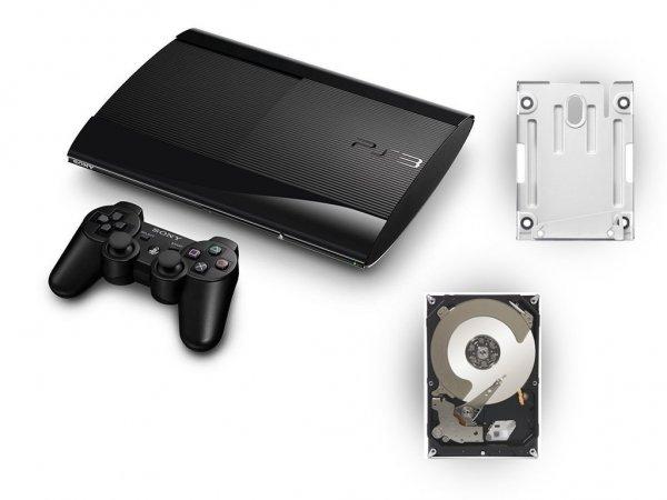 [Amazon WHD] Playstation 3 12GB + 500 GB Festplatte inkl. Montagehalterung (und DualShock 3 Wireless Controller) ab 165,44€