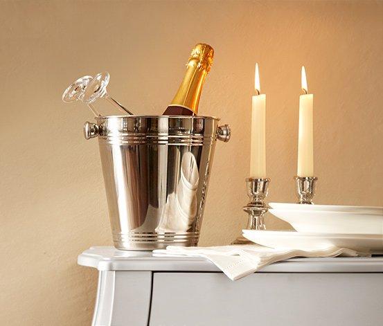 Tchibo: Champagner mit Kühler 24€ +4,95€