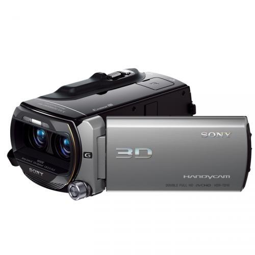 3D FullHD Camcorder - Sony HDR-TD10E - 64GB Speicher - 10x opt. Zoom - 3D Wiedergabe auf dem Touchscreen ohne 3D Brille