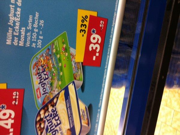 [Lidl Bundesweit] Müller Joghurt mit der Ecke nur 39 Cent anstatt 59 Cent
