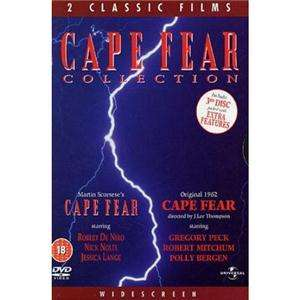 Cape Fear (Kap der Angst) Box Set [3 DVDs] für 4,49€ @ play.com