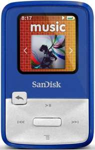 [Amazon] Sansa Clip Zip 4GB MP3 Player refurbished