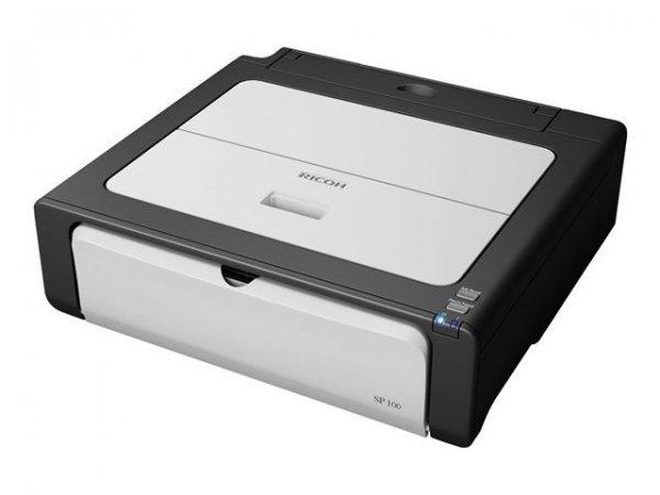 Ricoh Aficio SP 100e Laserdrucker für 28,75€ inkl. Versand