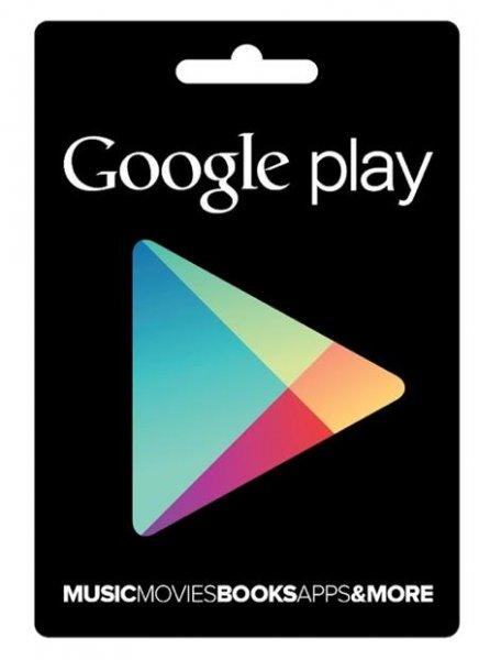 15€ Google Play Card für 13,99€ @Gravis
