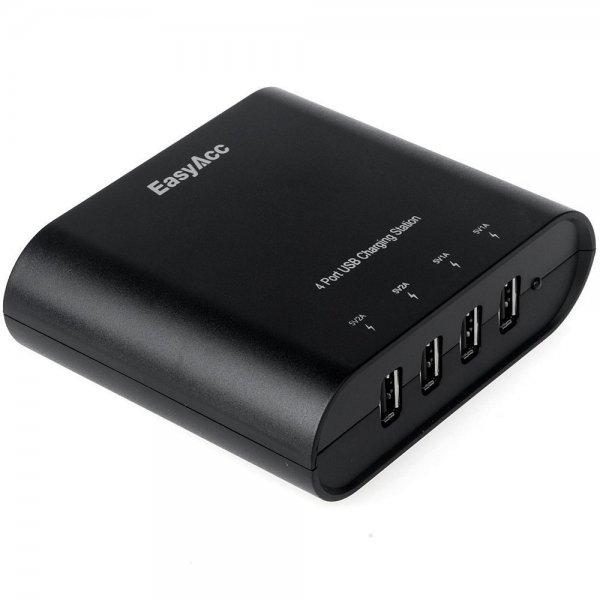 [Amazon] EasyAcc® 31 Watt 5V / 6A 4-Port Portable USB Ladegerät ab 10,99€
