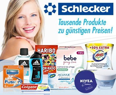 30€ Gutschein für 15€ für Schlecker.de @ DailyDeal