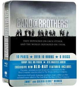 Band Of Brothers: Complete HBO Series - Blu Ray - Metallbox - Nur Originalton