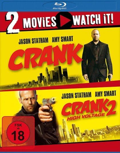 Crank & Crank 2: High Voltage (Blu-ray) für 13€ @Media Dealer