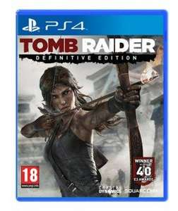 Tomb Raider Definitive Edition (PS4) für 38,59 € inkl. Versand