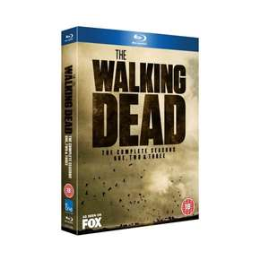 The Walking Dead Season 1-3  BLU RAY