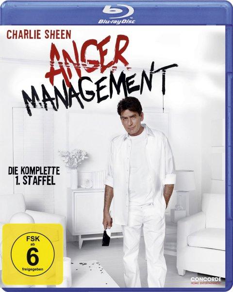 [Blu-ray] Anger Management - Staffel 1 (Pre-order) @ CeDe.de - Charlie Sheen