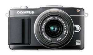Olympus PEN E-PM2 Systemkamera inkl. 14-42mm Objektiv schwarz  @ Amazon 339 EUR