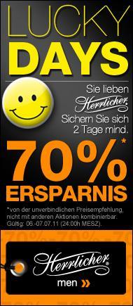 """Mindestens 70% Rabatt auf alle """"Herrlicher""""-Produkte jetzt bei dress-for-less.de - HAPPY DAYS"""