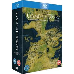 Game of Thrones Seasons 1-3 (OT) auf Bluray für 57€