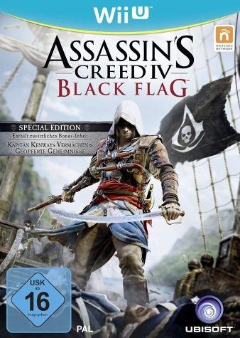 Wii U Assassin's Creed 4: Black Flag Special Edition mit Bonus-Inhalten @ Bücher.de