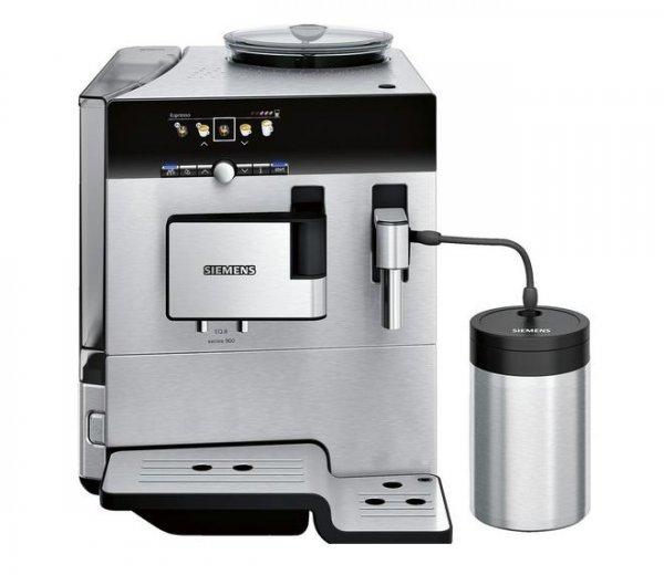 Siemens TE809501DE Kaffeevollautomat EQ.8 series 900, Edelstahlfront und -gehäuse