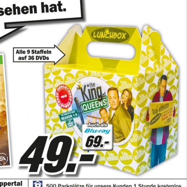 King of Queens - Lunchbox - ganze Serie DVD oder Blu-ray (69€) @Media Markt Wuppertal
