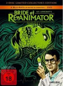 [Blu-ray] Bride Of Re-Animator (Ltd. CE), El Mariachi Trilogy, The World's End @ Alphamovies